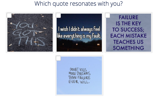 which quote resonates with you question