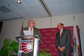 Photo: Gary Manier, President's Servant Leader Award