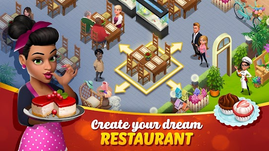 Tasty Town MOD APK 1.17.17 [Fast Cooking] 3