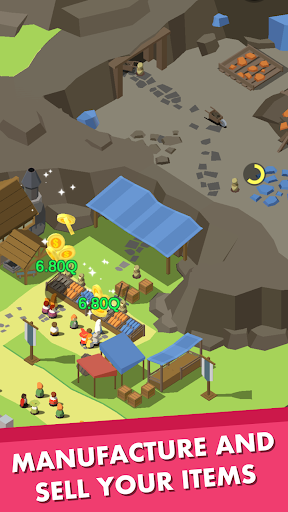 Idle Medieval Town - Tycoon, Clicker, Medieval 1.0.22 Mod screenshots 4