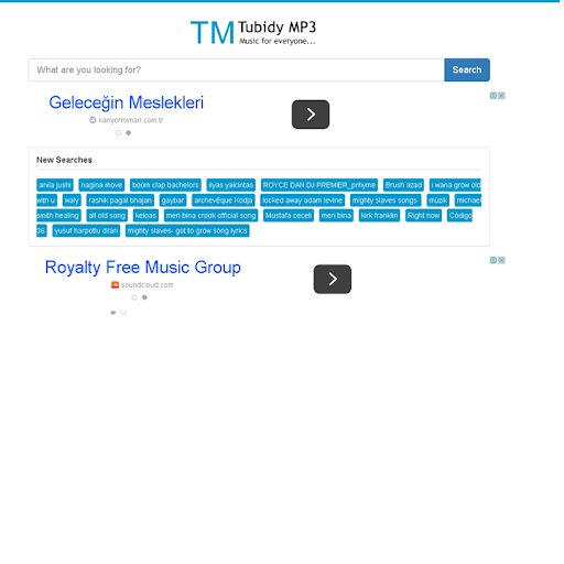 Tubidy Mp3 Free Download Search Engine Apk idea gallery