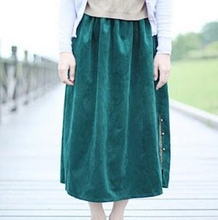 Skirt Long Design - náhled