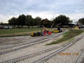 Photo: Rick White's equipment sitting in an empty yard.      HALS / SWLS 2013-1109  DH3