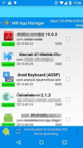 應用程序管理器-un installer apk文件