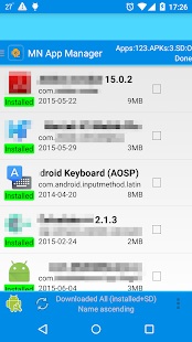 App Manager-copy/backup/send- screenshot thumbnail