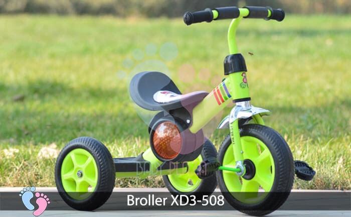 Xe đạp ba bánh cho bé Broller XD3-508 4