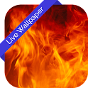 Fire Flame 3d Cube LWP icon