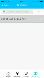 Scout Zap - náhled