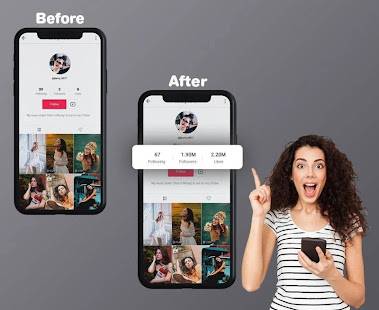 TikFame - Get tiktok fans & followers & likes 1.0.1 APK + Мод (Free purchase) за Android