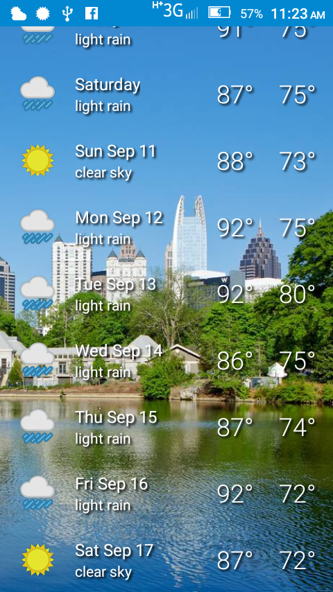 Augusta, GA - weather - Android Apps on Google Play