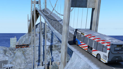 Snow Hill Bus Drivingsimulator 1.2 screenshots 2