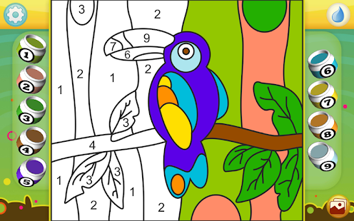 Paint by Numbers - Animals- screenshot thumbnail
