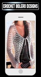 DIY Bolero Shrugs Crochet Making Women Craft Ideas - náhled