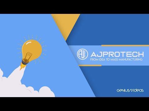 Custom Animated Explainer Video   AJPORTECH BY (GENIUSVIDEOS)