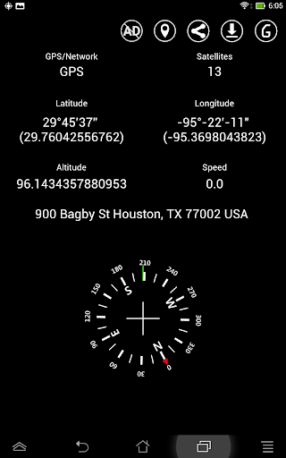 Simple GPS Coordinate Display 36 screenshots 8