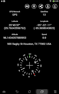 Simple GPS Coordinate Display- screenshot thumbnail