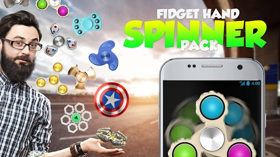 Fidget hand spinner pack Screenshot