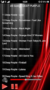 DEEP PURPLE Songs - náhled