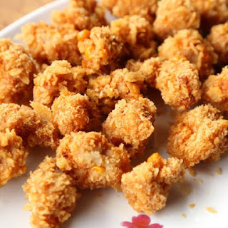 Deep Fried Pork Meatballs Recipe