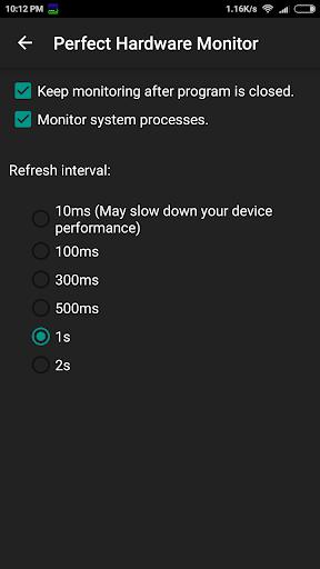 Perfect Hardware Monitor screenshot 8