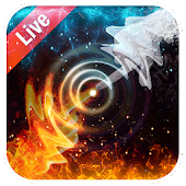 Live Wallpaper Background Ice and Fire