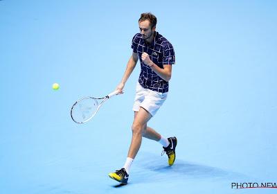 Geen veranderingen op ATP Ranking: Medvedev moet, ondanks winst ATP Finals, tevreden zijn met de vierde plaats