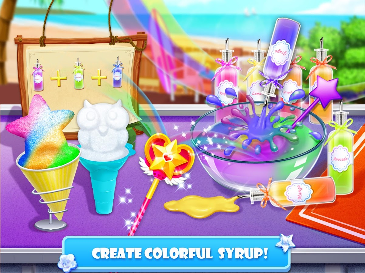 Snow Cone Maker - Frozen Foods- screenshot