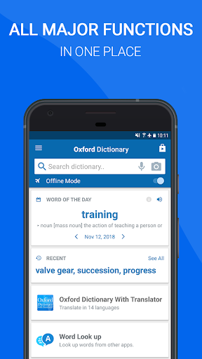 Oxford Dictionary of English : Free 10.0.399 screenshots 4
