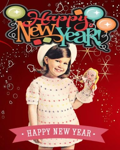 android New Year Funny Face Editor Screenshot 1