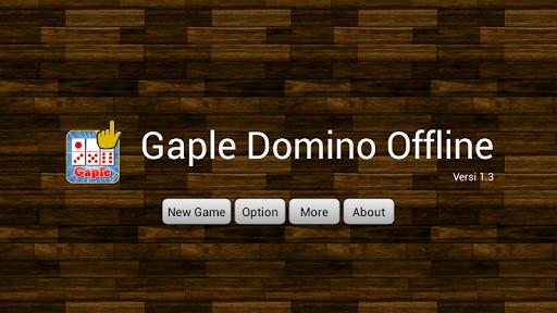 Gaple Domino Offline 1.4 screenshots 1