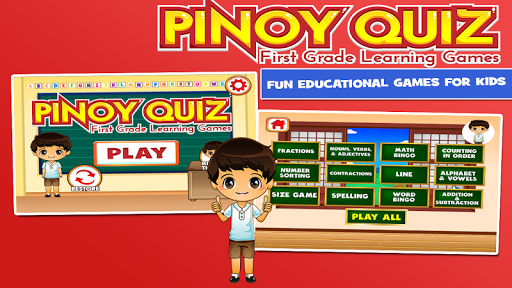 Pinoy Quiz for First Grade android2mod screenshots 1