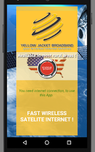Yellow Jacket Broadband 3G 4G- screenshot thumbnail
