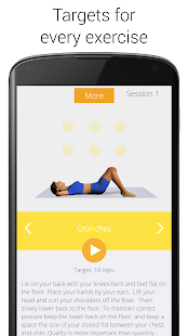 5 Minute Home Workouts Screenshot