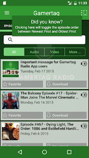 Gamertag Radio App- screenshot thumbnail