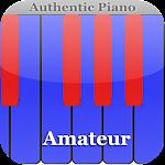 Amateur authentic piano Icon