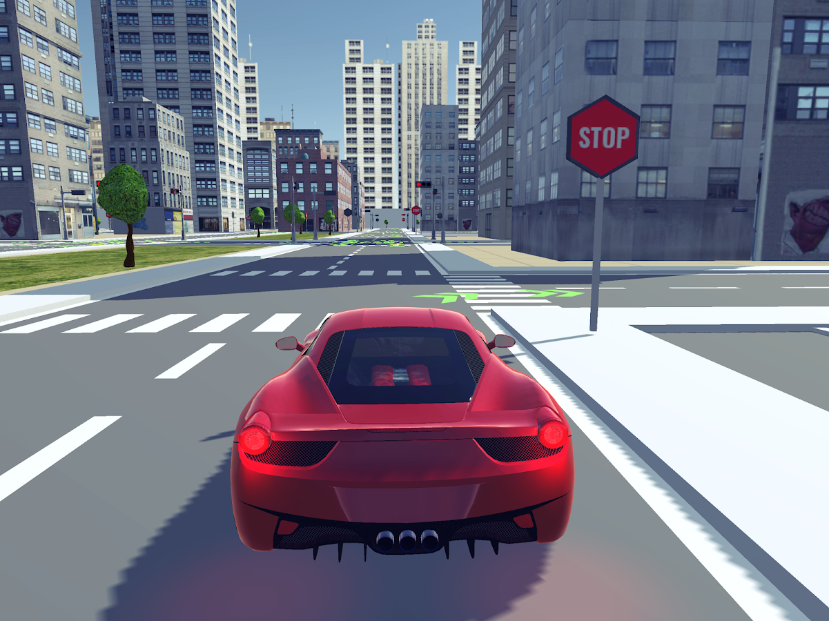 Driving School 3D- screenshot
