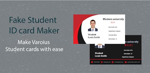 student id card maker student card creator izinhlelo zokusebenza