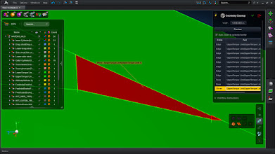 Photo: Identify and cleanup problematic geometry spots including slivers, short edges, small faces, etc.