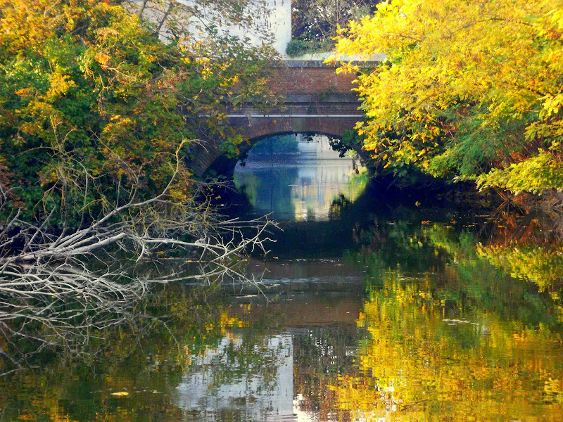 Il ponte sul fossato di Furlissima