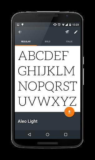 Fontster (Root) screenshots 1