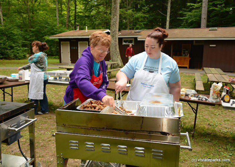 Photo: Yummy grill cooking at Emerald Lake State Park by Gary Bouchard