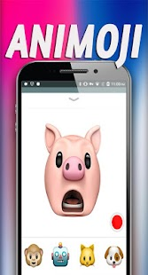 Animoji for Yourself - Emoji Phone X 3D - náhled