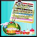 Latest birthday frames icon