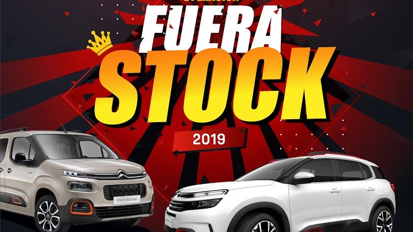 Cartel anunciador del evento 'Fuera Stock'.