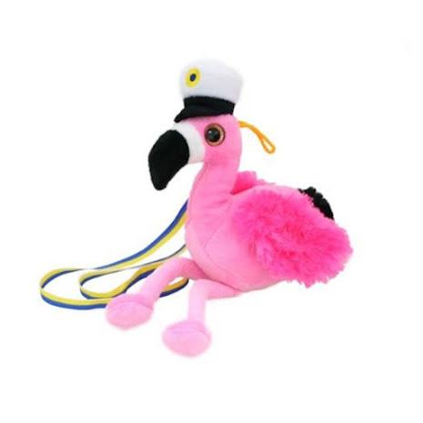 Studentnalle, flamingo 30 cm