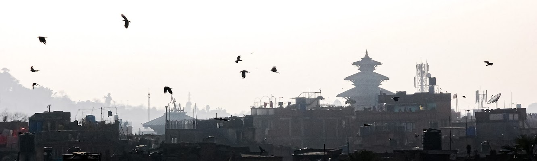 Tra i tetti di Katmandu di Pino Cappellano