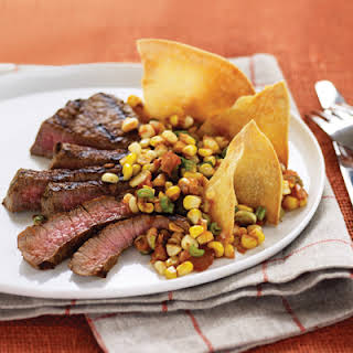 Chipotle Steak and Corn Salsa.