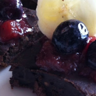 Chocolate Breakfast Black Bean Brownie.
