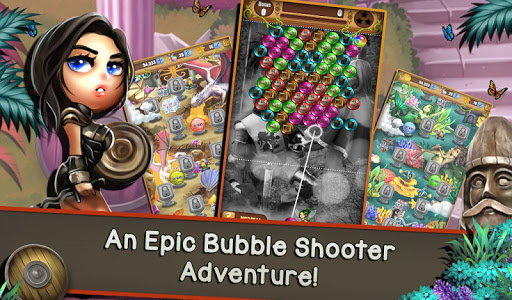 Bubble Burst Quest: Epic Heroes & Legends - screenshot