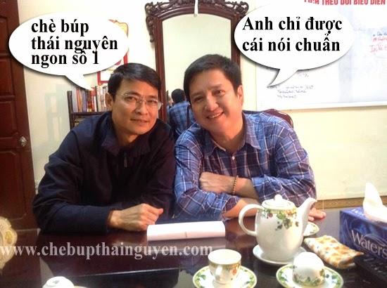 Uống trà Thái Nguyên ngày hội ngộ